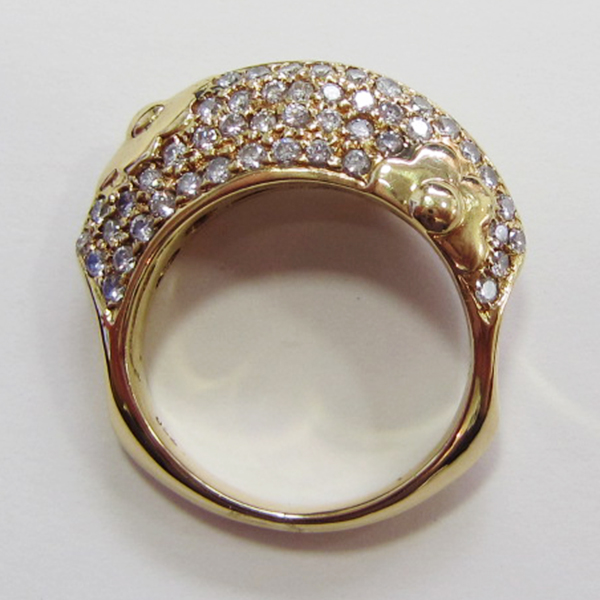 K18YGダイヤモンドリング ECO Jewelry
