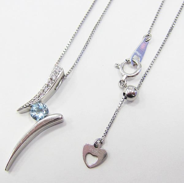 PTアクアマリン ペンダント ECO Jewelry