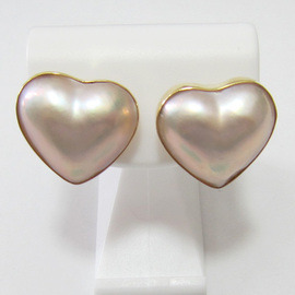 K18YGマベパールピアス  ECO Jewelry