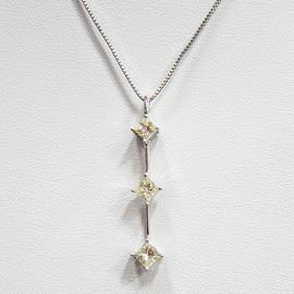 K18WGダイヤモンド ペンダント ECO Jewelry