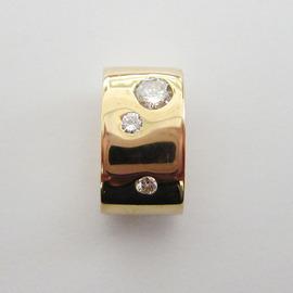 K18YGダイヤトップ ECO Jewelry
