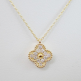 K18ダイヤモンドペンダントネックレス