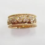 K18YGダイヤリング  ECO Jewelry